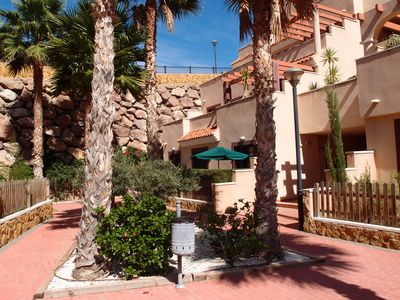 Photo for Comfortable Apartment In Quiet Area of hills overlooking Aguilas Bay WIFI incl