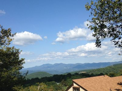 Photo for Beech Villa with Breathtaking Mtn Views!! 1 MILE to Resort with Club Access!