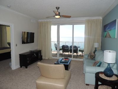 Photo for Beautiful  Beach Front/ Gulf Front- Modern 2/2- Free Wifi!