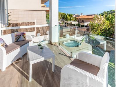 Photo for Chalet Vistamar, sea views, relax and jacuzzi with hot water option.