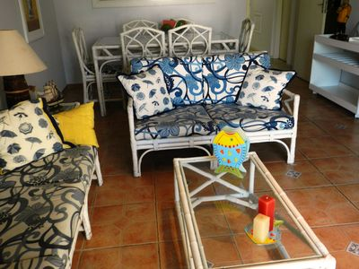 Photo for Excellent apt to 3 blocks from the beach Enseada-Ideal for 6 people
