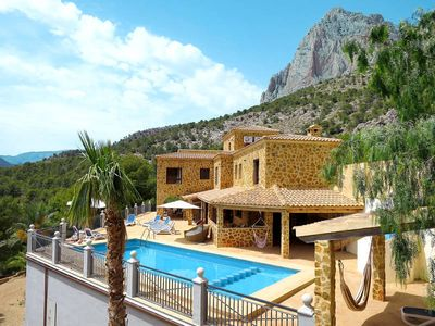 Photo for Vacation home in Finestrat, Costa Blanca - 11 persons, 5 bedrooms