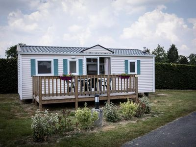 Photo for Camping Isle of Kernodet *** - Mobile Home Texas 4 Rooms 6 People