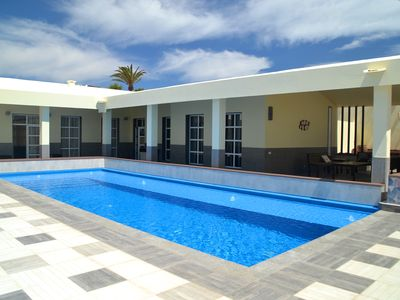 Photo for Villa Forever Luxury - 4 Beds- 4 Baths - Private Heated Pool  - WiFi - UK TV