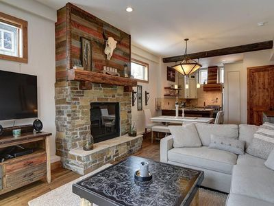 Photo for Chic Mountain Getaway just blocks from Frisco`s Main St
