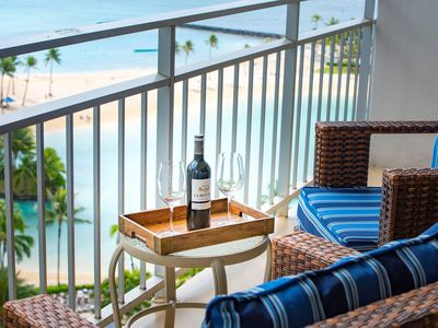 Photo for New, Beautiful Beachfront Condo With Ocean And Beach View.Great Deals All Year.
