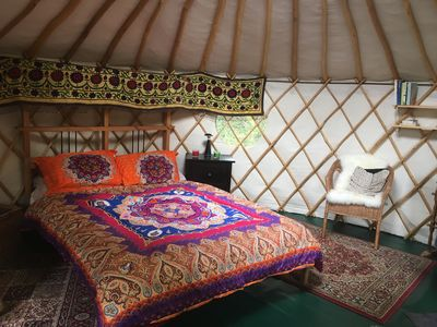 Photo for Yurt close to Bath - One Bedroom Apartment, Sleeps 2