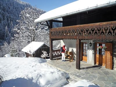 Photo for Stunning chalet in Morzine for 8+ combining traditional charm with modern luxury
