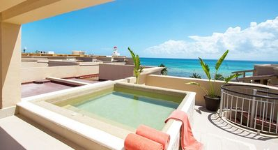Photo for 2 Bed PH with Private Plunge Pool - Oceanfront