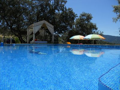 Photo for Charming and cozy cottage with private pool near Ronda (16 km). Beautiful views.