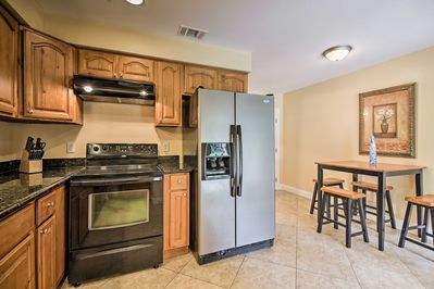 Escape to the coast by booking this vacation rental condo in Gulfport!