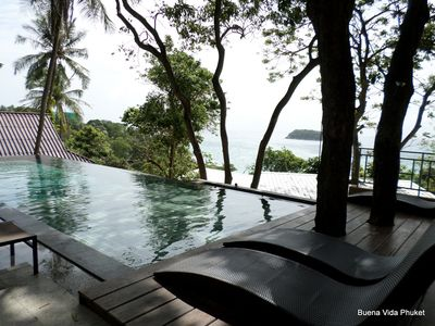 Photo for 1 bed bungalow overlooking Kata beach