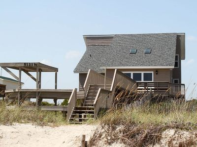 Photo for Wahoo: 5 BR / 3 BA home in Oak Island, Sleeps 13