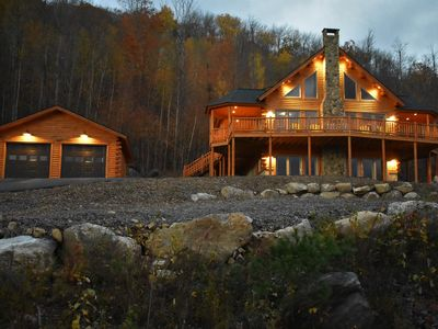 Photo for SPECTACULAR PRIVATE  MOUNTAIN GET AWAY  CLOSE TO SKI AREA/HOT TUB