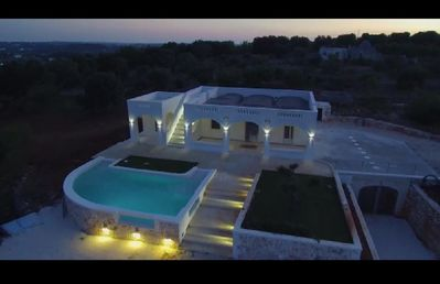 Photo for Panoramic villa with pool 4 bedrooms