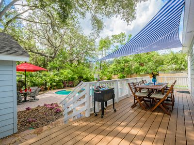 Photo for Elegant Pool Home - Walk to Pinellas Trail, Quaint Downtown Shops & Restaurants