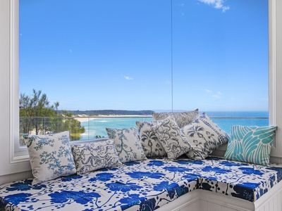 Photo for Fairwinds a spectacular ocean front home with views down Inyadda Beach