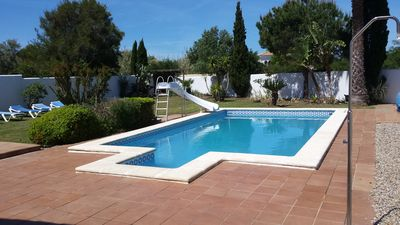 Photo for 4 bedroom 3 bathroom , private swimming pool, close to beach
