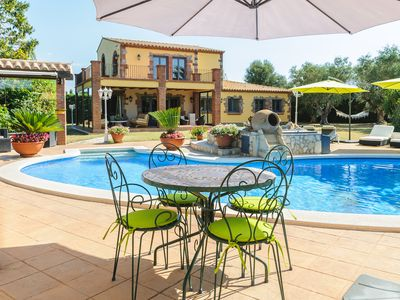 Photo for Guest House, Air Conditioned, Swimming Pool, Private Jacuzzi on Peralada Golf Course