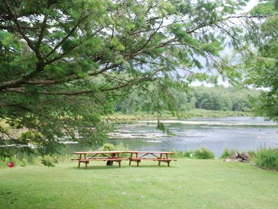 Photo for LAKEFRONT-  Poconos Getaway on a tranquil lake.