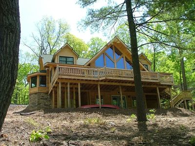 Photo for Sleepy Hollow Lakeside Log Home