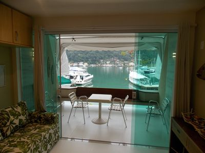 Photo for Excellent apartment with total view to the sea in condominium