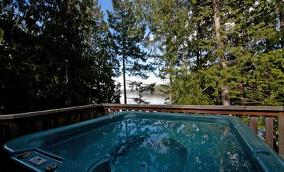 Photo for Serene Chalet Near the Ocean with Hot Tub & Free Kayak Rentals