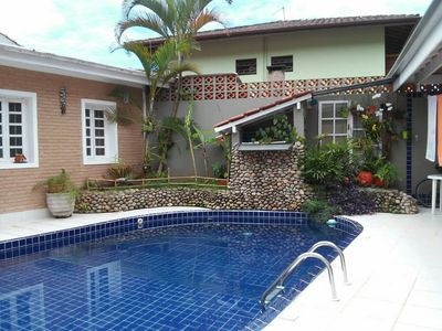 Photo for Casa Florêncio, near the beach, with pool.