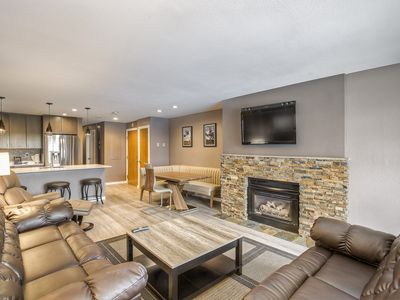 Photo for Luxe Condo - Walk to Gondola - Sleeps 7!