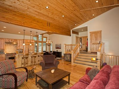 Photo for Truckee Timbers - 4 BR w/ 3 Living Areas and BRAND NEW Hot Tub!
