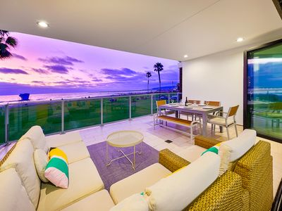Photo for 25% OFF OCT - Oceanfront Condo, Water Views, Steps to Beach + More