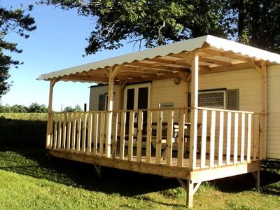 Photo for Camping Bellevue *** - Mobil Home 3 Rooms 4 People