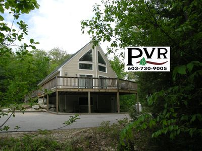 5BR in N.Conway w/ Game Room, Large Deck w/ Grill, AC, Cable & WiFi!