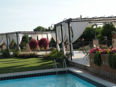 Photo for Elegant country house with pool in Matilda of Canossa area - Apartment