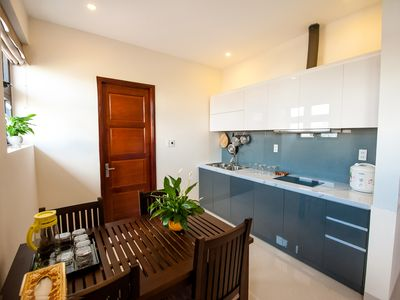 Photo for COOL PENTHOUSE AT ARIEL, NICE GARDEN, BEACH AREA, with BREAKFAST