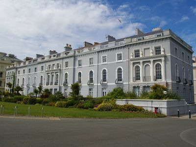 Photo for The Esplanade, Plymouth luxury apartment, with spectacular panoramic sea views.