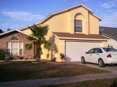 Photo for Disney World Beautiful 5 Bed, 3 Bath, 2 Story, Pool Home