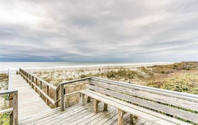Photo for oceanfront condo next to The Isles Beach Club and Restaurant!