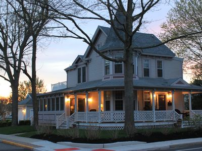 Photo for Beautiful Renovated 3BR 1889 Cape May Victorian .8 Mile to Beach