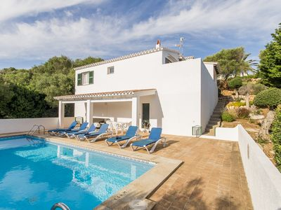 Photo for Nice villa very near the sandy Binibeca beach, with private pool and wifi.