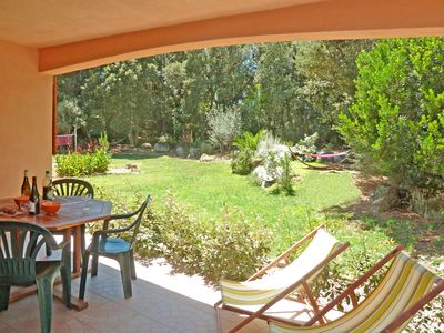 Photo for Porto-Vecchio, quiet F3 with 2 bathrooms / WC, large garden, air conditioning, Wifi