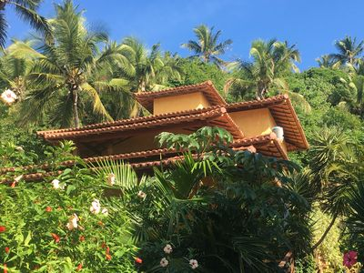 Photo for Tide Guest House, a luxury home in Pitinga really walk in the sand.