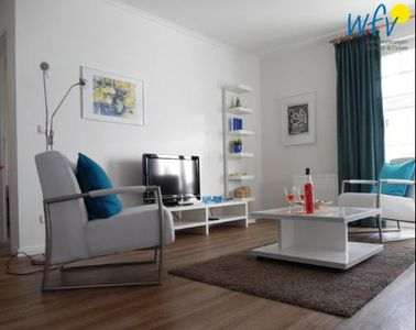 Photo for Modern apartment with balcony in the idyllic Baltic Sea Binz on Rügen - here