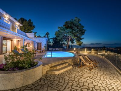 Photo for Castelli Luxury 3-Bedroom Private Pool villa with Panoramic Views