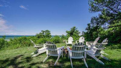 Photo for Blackstone on the Bluff. Large, historic home, lake views & shoreline access