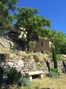 Photo for Bastide closed to village, wonderful view on the Grand Lubéron