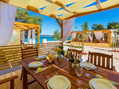 Photo for Adorable home with private terrace,10m distant from beach !