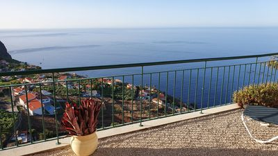 Photo for Private terrace with stunning ocean view: Captain's View Apartment @ Casa Serena