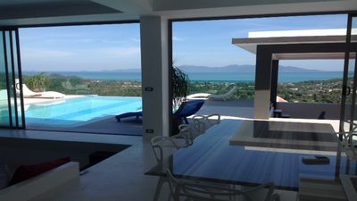 Photo for Modern Villa with the Most Awesome Sea View in Samui!