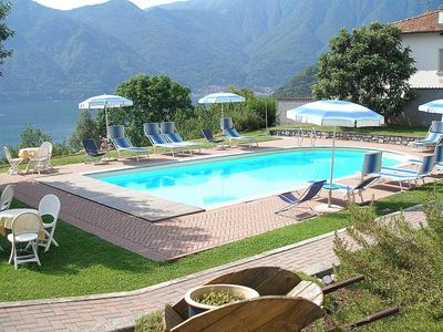 Photo for 3 bedroom Villa, sleeps 7 in Mezzegra with Pool and WiFi